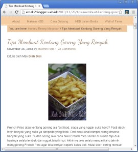 emak2 blogger-tips kentang goreng screen shot